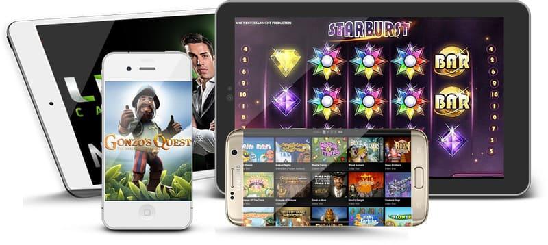 Mobil casino bonus